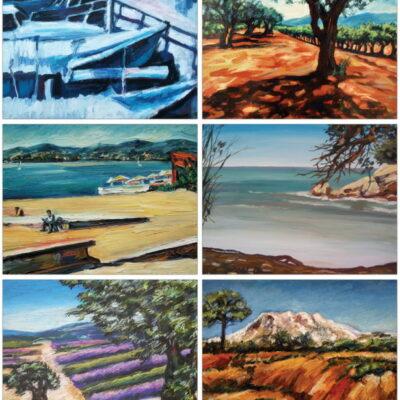 Cartes postales 10x15 Chipilova