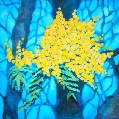 Le Mimosa, 50x50cm