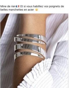 MANCHETTE ACIER